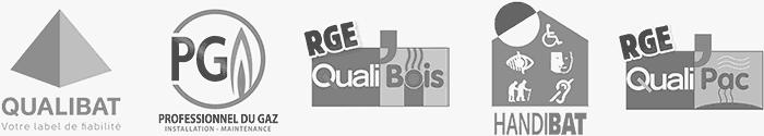 Nos certifications professionnelles : Qualibat, RGE, Handibat