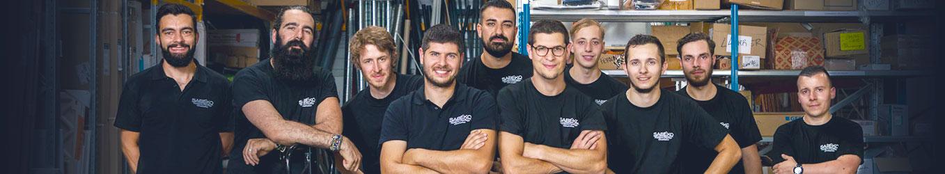 Notre équipe : des experts Installation