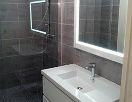 Rénovation de cuisine et de salle de bain Caluire
