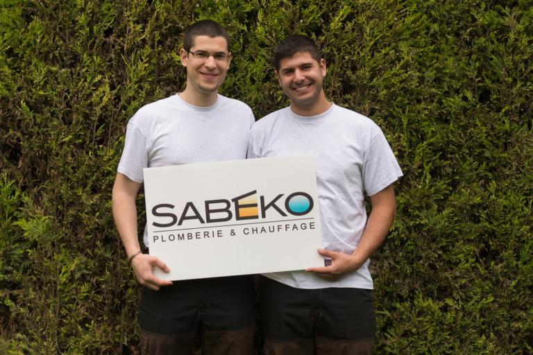 Samuel et Benjamin, les fondateurs de SABEKO