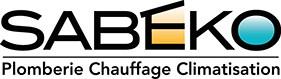 Logo de la société SABEKO - Plomberie, chauffage et climatisation