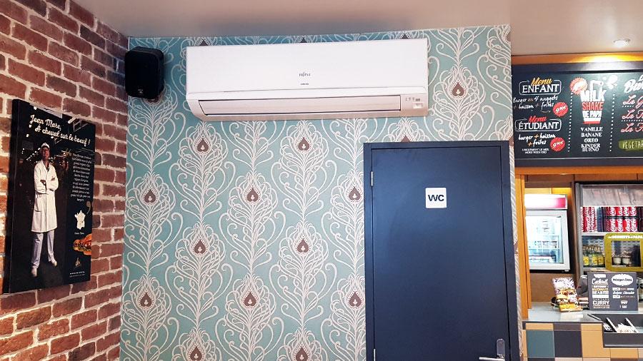 climatisation salle de restaurant à lyon
