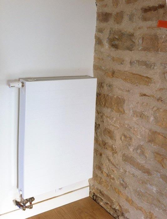 pose de radiateurs pas chers par une entreprise de chauffage