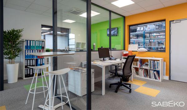 local administratif de SABEKO, entreprise climatisation Lyon