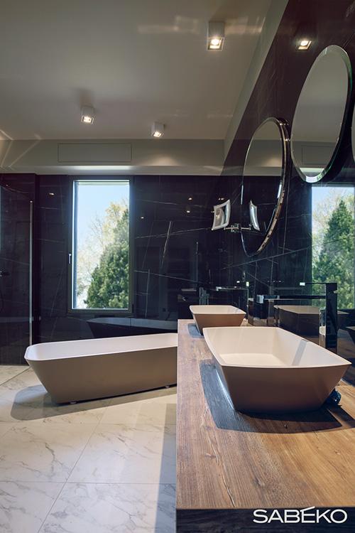 Vue générale de notre salle de bain d'Annecy