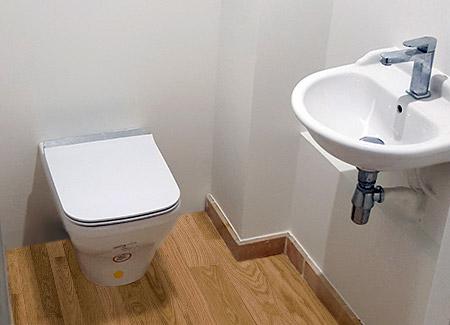 Dépannage d'un WC réalisé à Aix-les-Bains, enen Savoie
