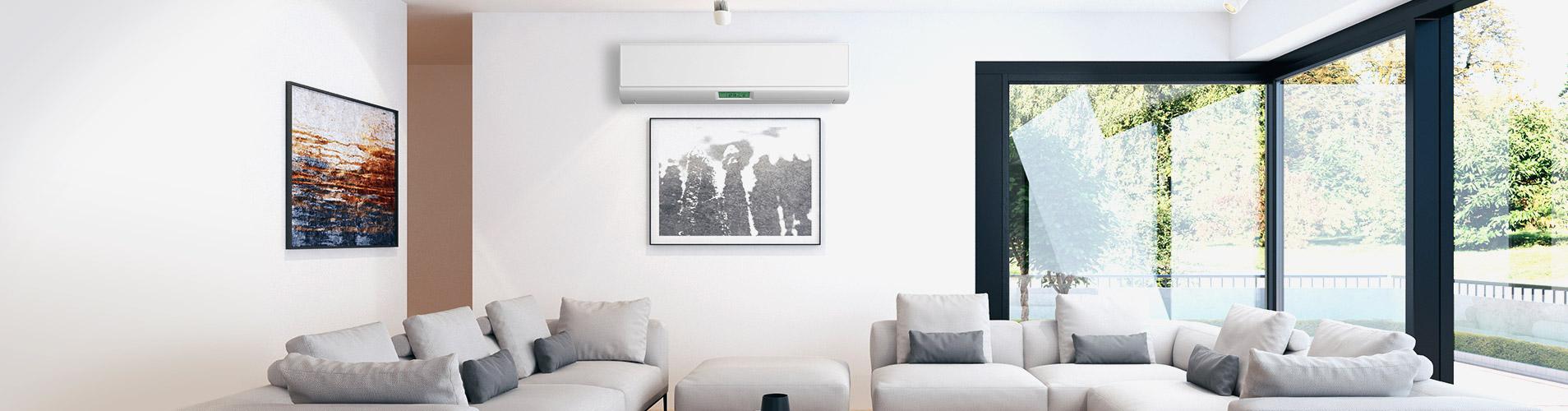La climatisation est un équipement de confort idéal dans le salon