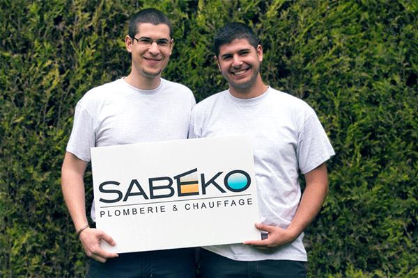Les frères KOHEN, fondateurs de SABEKO