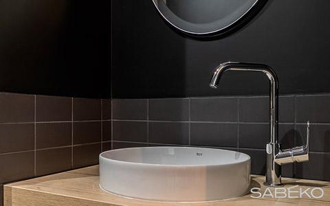 Rénovation d'un lavabo réalisée par un plombier fiable à Lyon