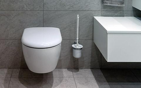 Remplacement des sanitaires par un WC suspendu design