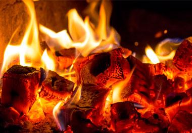 Le feu de bois est un mode doux et agréable