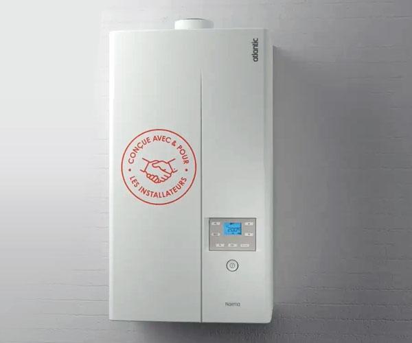 La chaudière à condensation Vitodens