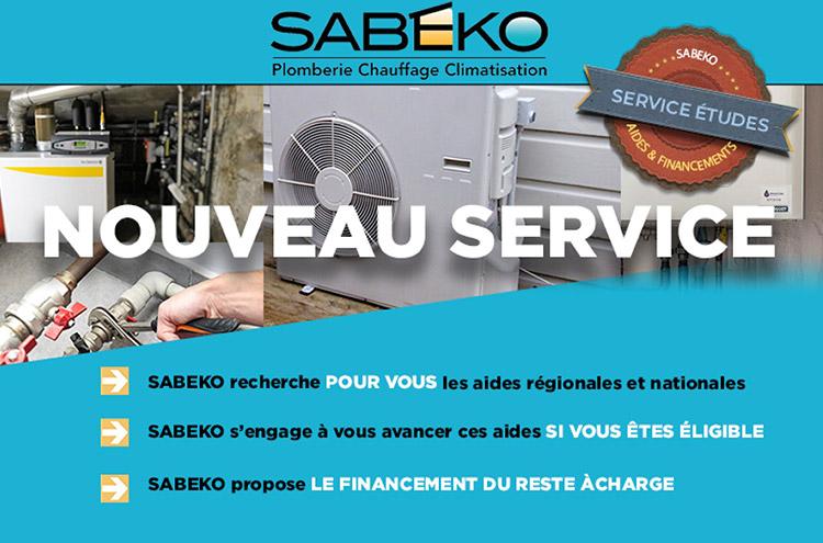 Nouveau bureau d'étude SABEKO