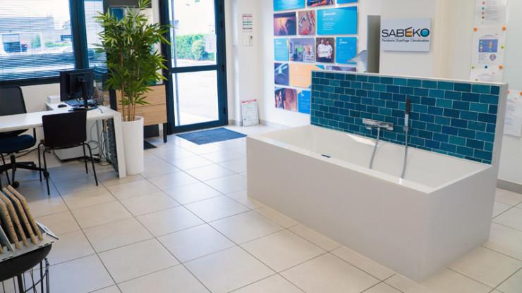 Notre showroom baignoire